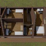 дом из бревна 7х11